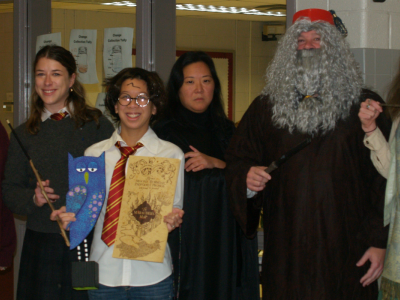 Staff Harry Potter Halloween Costumes