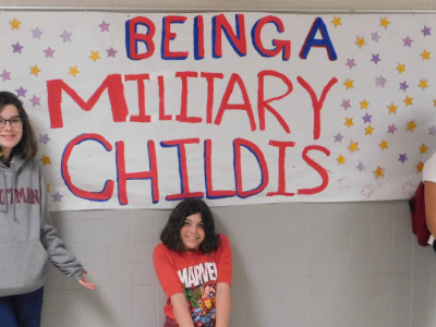 Being a Military child is...